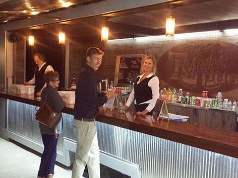 Travel wedding bartenders